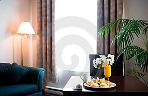 Hotel Room Breakfast Stock Photos - Image: 1673743