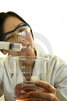 Female Worker/scientist Royalty Free Stock Images - Image: 1674599