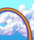 Pastel & chalk rainbow • SEE MY PORTFOLIO!