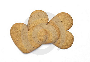Gingerbread Cookies Royalty Free Stock Photos - Image: 16701828