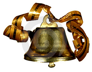 Gold Handbell Stock Images - Image: 16702494