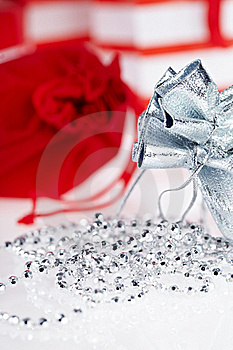 Christmas Gifts , Macro Shoot Royalty Free Stock Images - Image: 16703189