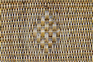 Wicker Basket Line. Royalty Free Stock Images - Image: 16703479