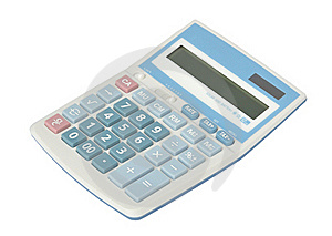 Sweet Blue Color Calculator Royalty Free Stock Photo - Image: 16706055