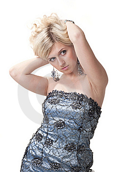 Pretty Blond Woman Royalty Free Stock Photography - Image: 16708577
