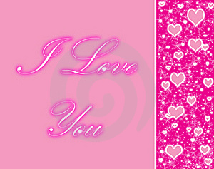 Pink Hearts Royalty Free Stock Image - Image: 16708796