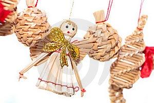 Straw Angel Stock Image - Image: 16709641