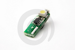 Circuitry Up Close LED Royalty Free Stock Photography - Image: 16710197