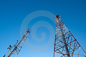 Comunication Antenna Royalty Free Stock Photo - Image: 16710535