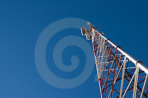 Comunication Antenna Royalty Free Stock Photography - Image: 16710557
