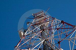 Comunication Antenna Stock Image - Image: 16710631