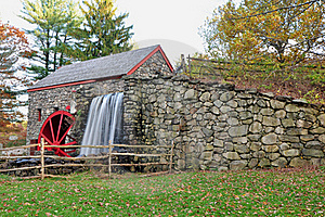 Grist Mill View Royalty Free Stock Photos - Image: 16711058