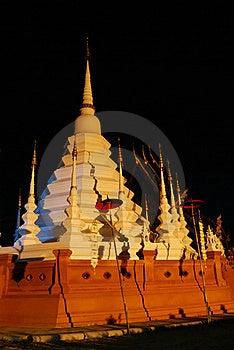 Wat Phan Tao Stock Image - Image: 16711461