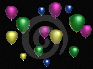 Baloons Royalty Free Stock Images - Image: 16713359