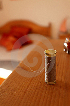 Cotton Thread Reel Stock Image - Image: 16714641