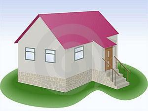 简单的房子 免版税库存照片 - 图片: 16718328