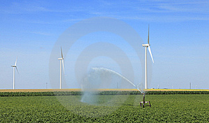 Agriculture And Energy Royalty Free Stock Photography - Image: 16721647