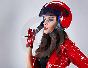 Sexy Biker. Stock Photos - Image: 16722223