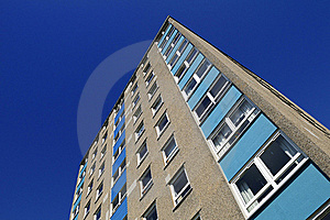 Tower Block From The 1970's Stock Images - Image: 16724334