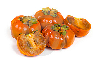 Ripe Persimmons Royalty Free Stock Images - Image: 16726009