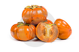 Ripe Persimmons Stock Images - Image: 16726024