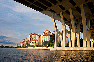 Singapore Urban Scene Stock Images - Image: 16726594