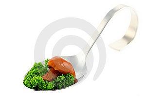 Canape With Mushroom. Royalty Free Stock Image - Image: 16727226
