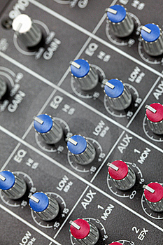 Mixing Console Royalty Free Stock Photo - Image: 16727525