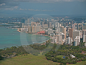 Top Of Diamond Head Volcano In Hawaii Royalty Free Stock Photography - Image: 16737147