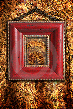 Antique Picture Frame Royalty Free Stock Photos - Image: 16737678