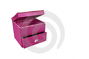 Pink Gift Box As White Background Royalty Free Stock Photos - Image: 16738488