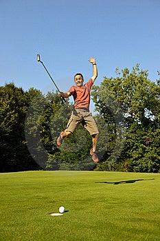 Happy Golfer Stock Images - Image: 16741334