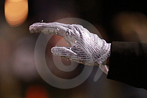 Sequin Glove Royalty Free Stock Photo - Image: 16741355