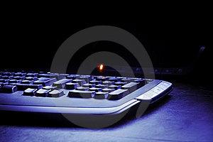 Keyboard Detail Stock Photos - Image: 16742673