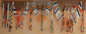 Tribal Bead Jewellery Royalty Free Stock Image - Image: 16742896