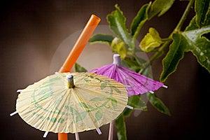 Paper Umbrella Royalty Free Stock Photos - Image: 16744588