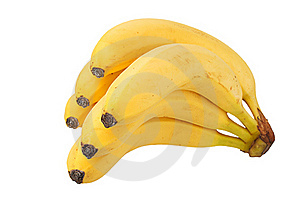 Cluster Of Bananas Stock Image - Image: 16746151