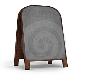 Old  Empty Notice Board Royalty Free Stock Images - Image: 16746789