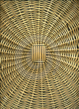 Wicker Basket Royalty Free Stock Image - Image: 16746886
