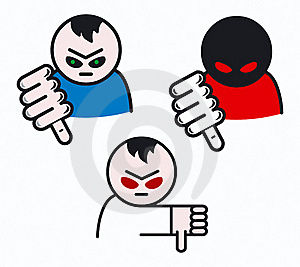 Thumbs Down Signal Royalty Free Stock Image - Image: 16746996
