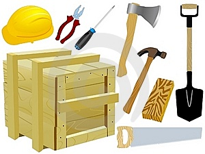 Collection Of Tools Royalty Free Stock Images - Image: 16747729