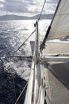 Catamarans Bow Stock Photo - Image: 16748820