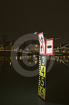 Tide Sign Stock Photos - Image: 16751043