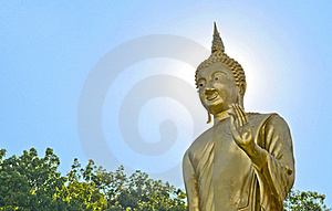 The Buddha Statue Stock Image - Image: 16755081