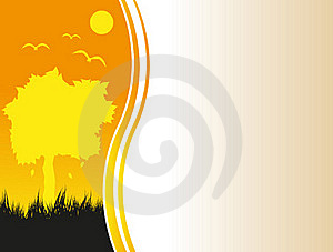 Evening Abstraction Royalty Free Stock Photos - Image: 16755608