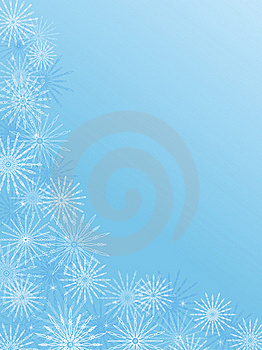 Christmas Background With Snowflakes Royalty Free Stock Image - Image: 16756846