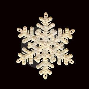 Snowflake Stock Image - Image: 16759321