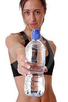 Sports Woman Stock Image - Image: 16760831