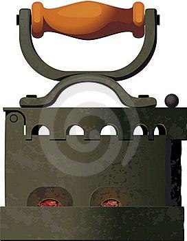Smoothing-iron Stock Photography - Image: 16761362