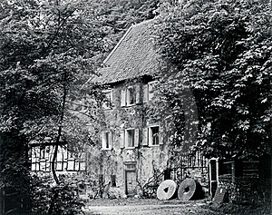 Picturesque Old Mill Royalty Free Stock Images - Image: 16761689